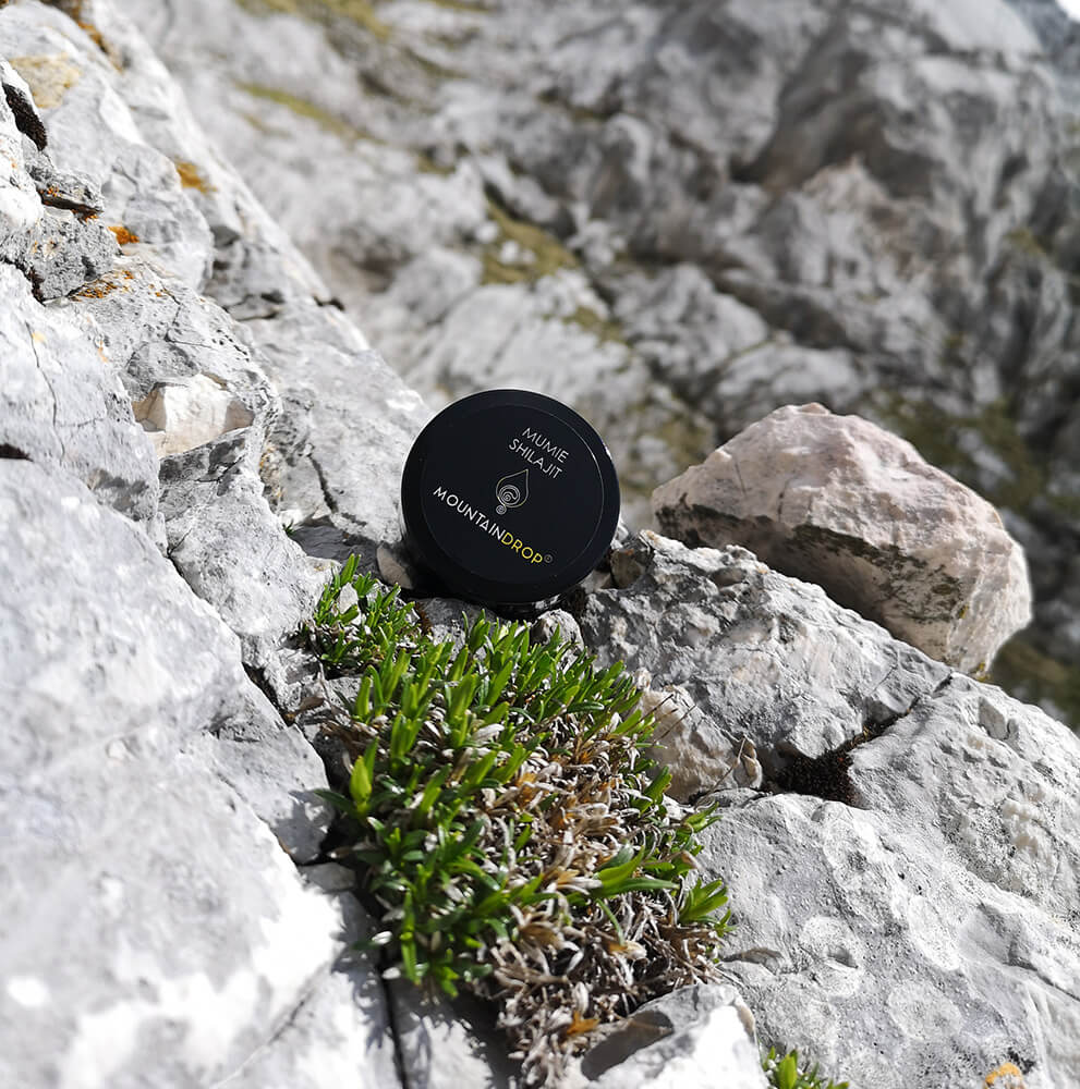 Mountaindrop Shilajit high in the mountains